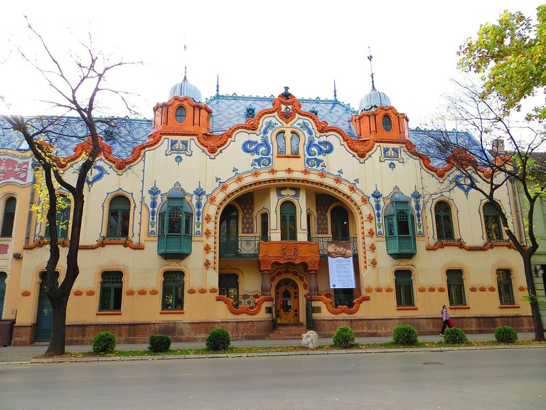 The stunning Modern Art Gallery of Subotica