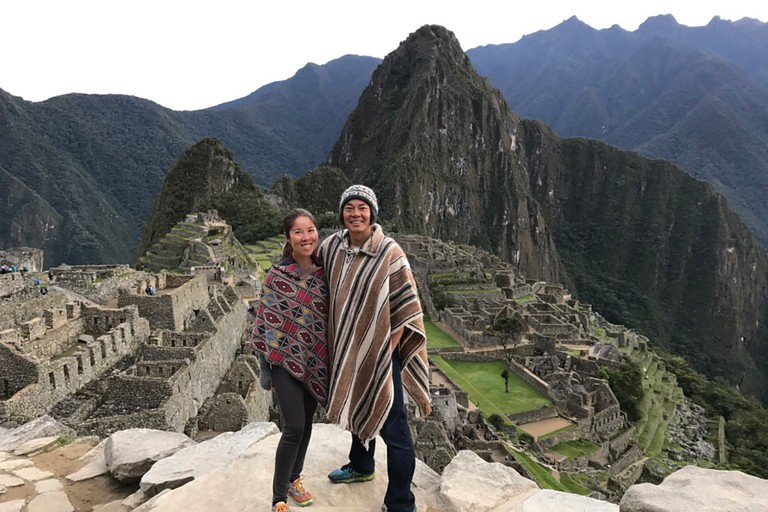 Wenmin Ou (left) and her husband Ethan Wang are among a new generation of Chinese tourists shunning traditional package tours in favour of designing their own trips
