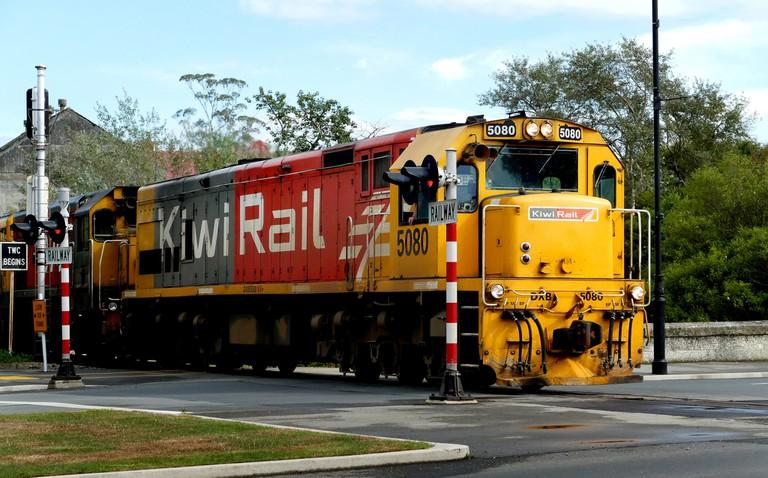 Heading down the rails