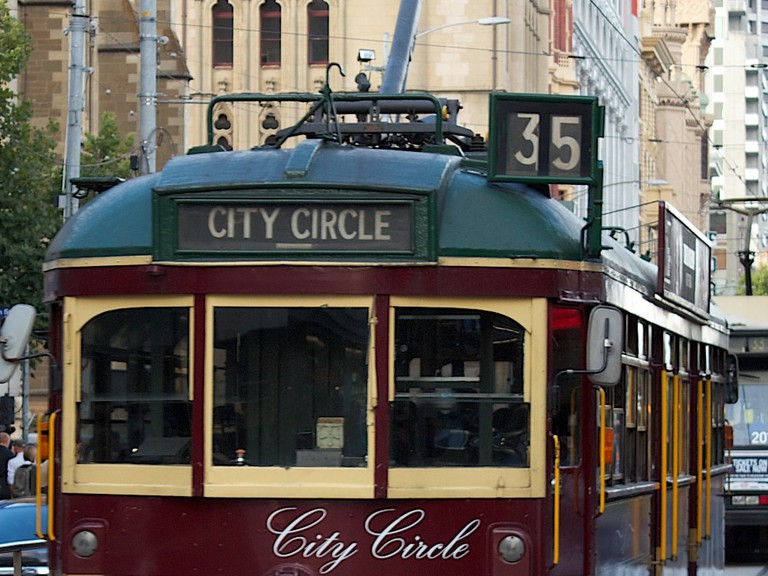 City Circle Tram in Melbourne © Kristina DC Hoeppner / Flickr
