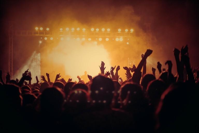Live music gig