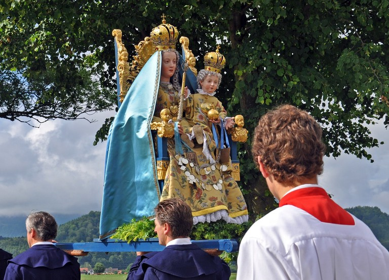 Corpus Christi celebrations in Spain