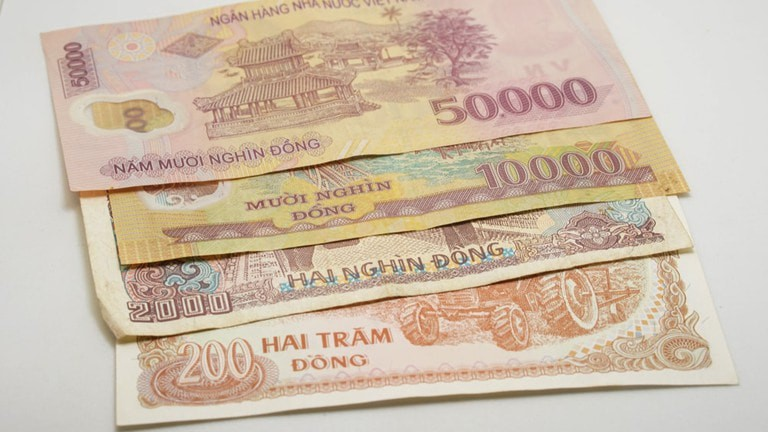 Currency exists in both paper and plastic.