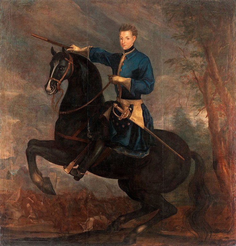 A painting of King Charles XII