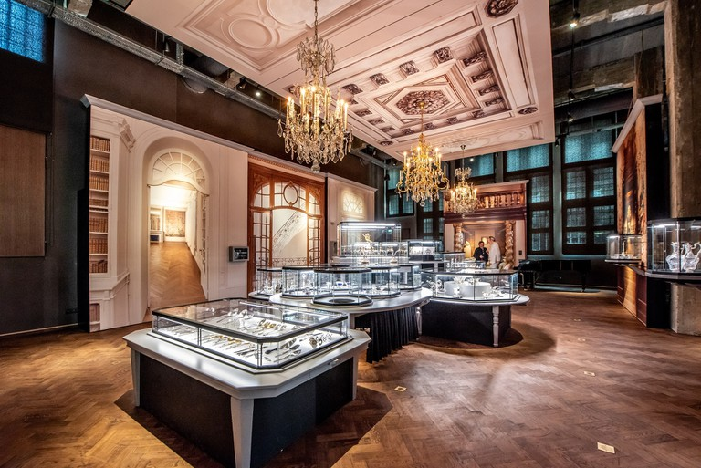 The Dining Room sheds light on the use of silver and the different lifestyles of rich and poor