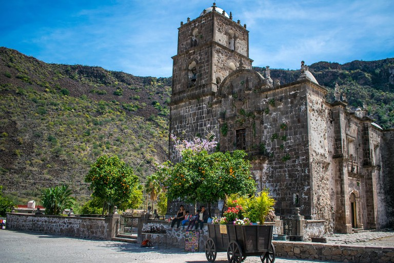 The 300-year-old Mision San Francisco Javier is an easy day trip from Loreto