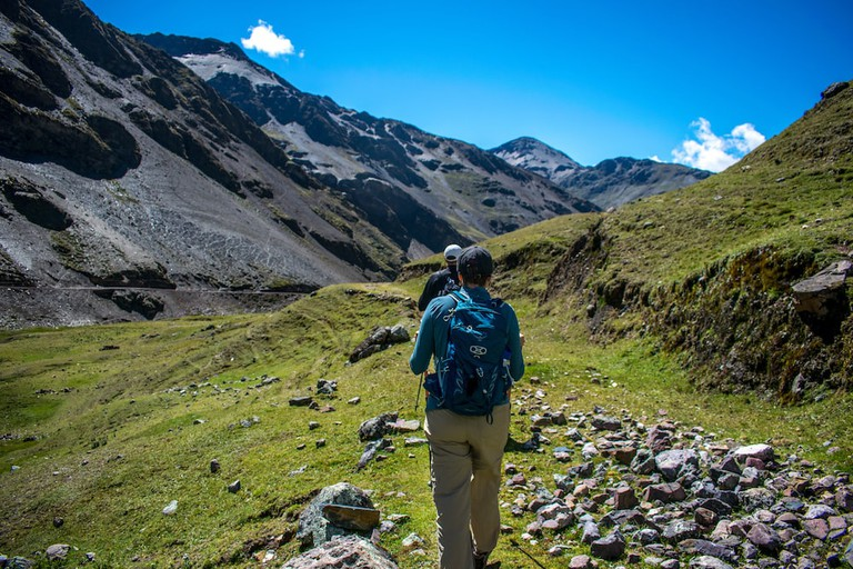 The Lares trails remain relatively undiscovered by tourists