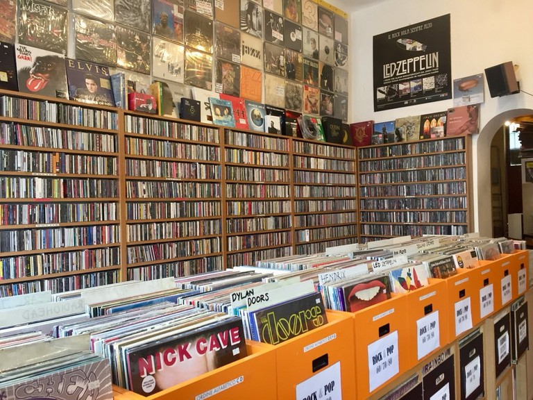 Majestic musical history at Dischivolanti record store, Milan | © and Courtesy Dischivolanti