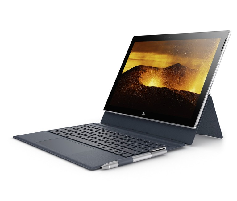 The HP ENVY x2 in action