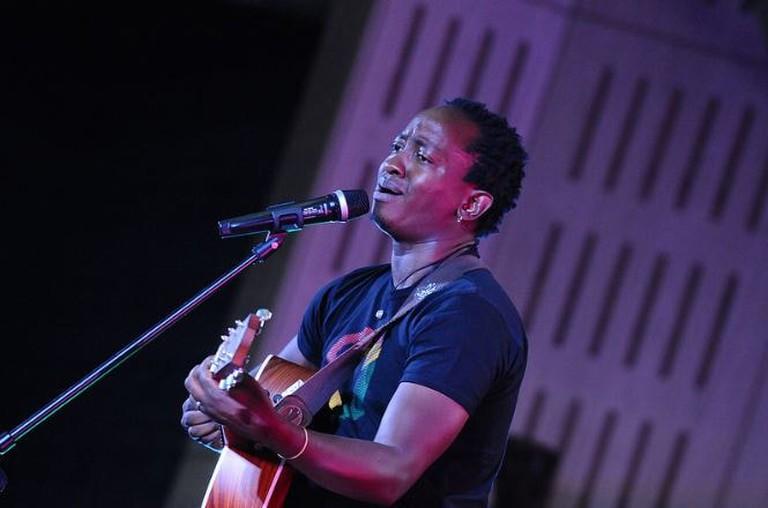 Kenyan crooner Eric Wainaina at TEDxNairobi 2014