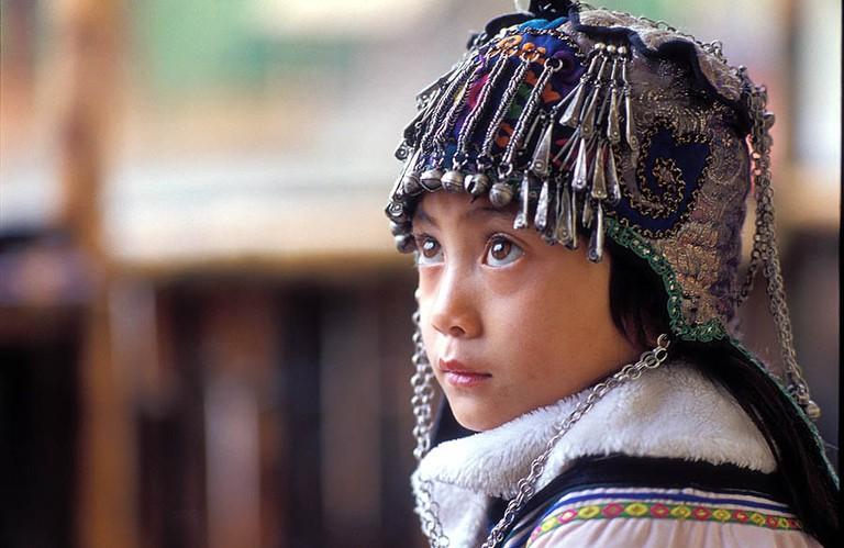 Ethnic_Hani_Headgear_China