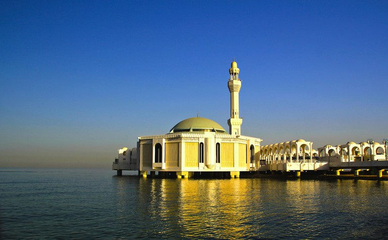 The Floating Mosque on Jeddah's Corniche