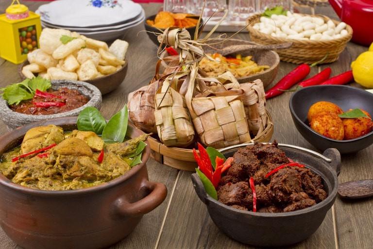 Assorted delicacies for Hari Raya Aidilfitri