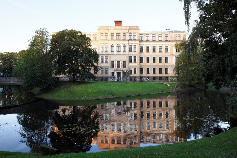 Former Faculty of Biology of the University of Latvia, photo Ansis Starks, courtesy RIBOCA, 2017 (5)
