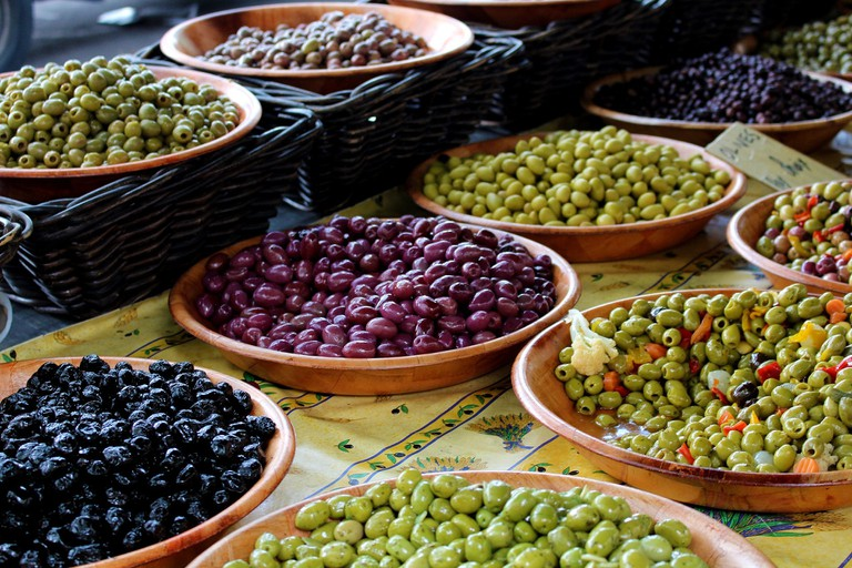 French markets in the South of France