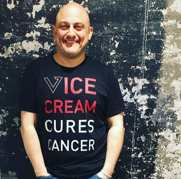 Dan Schorr, founder of Vice Cream
