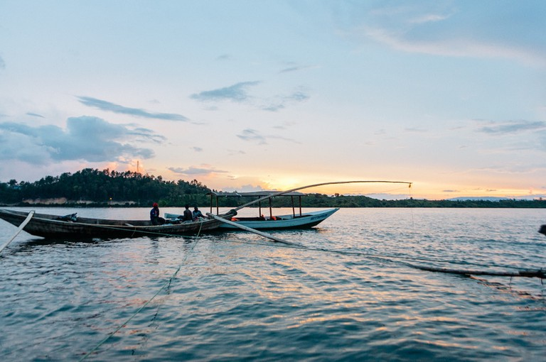 Lake Kivu Night Fisherman-Lake Kivu-Kibuye-Rwanda