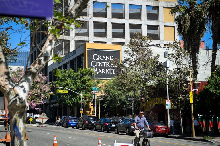 Grand Central Market from the street