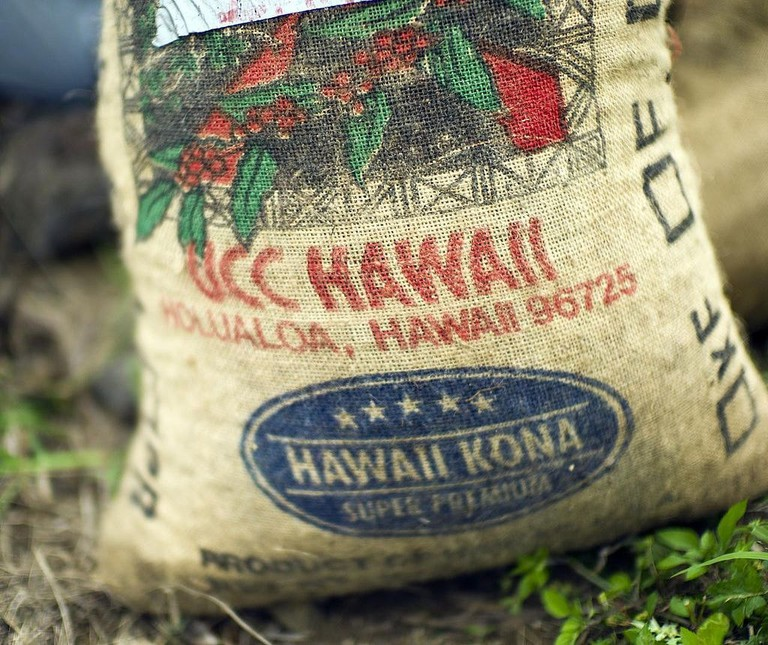 Bag of Hualalai coffee