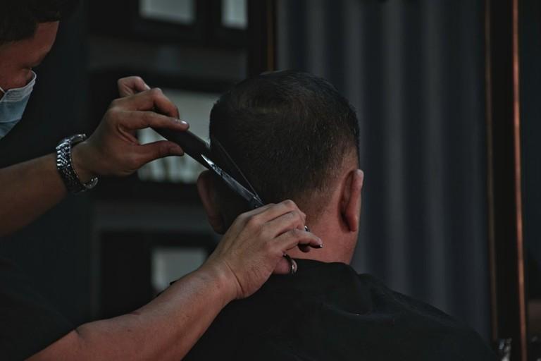 haircut small