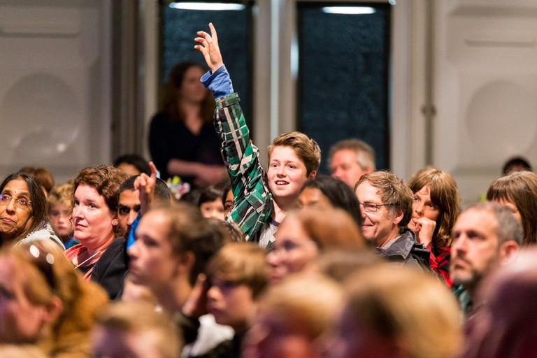 Hay Festival 2017 - audience - credit Chris Athanasiou