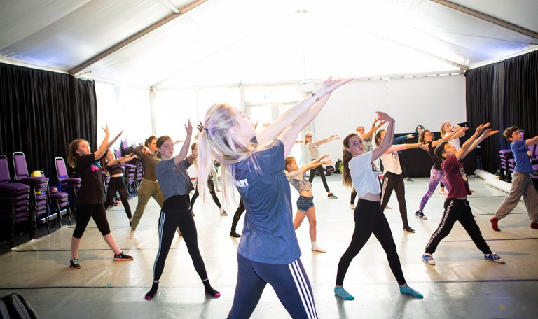 RAMBERT DANCE WORKSHOP