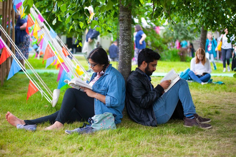 Hay Festival Wales - credit Joseph Albert Hainey