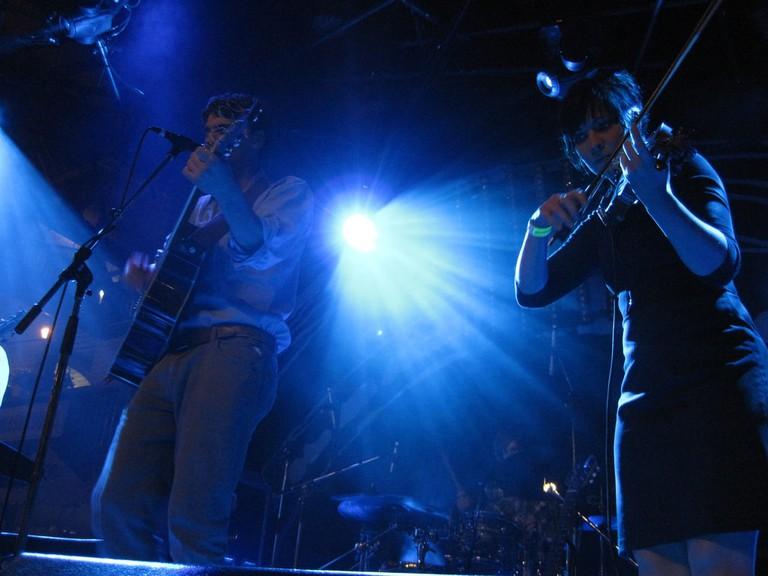 Newfoundland band Hey Rosetta! in concert