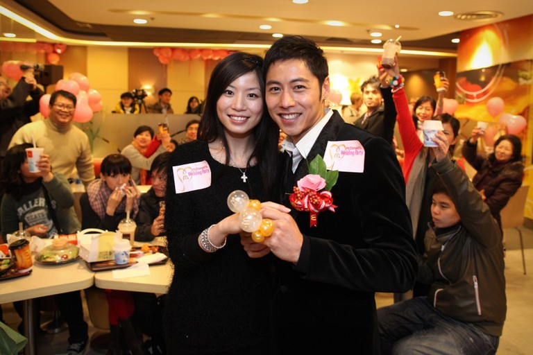Hong Kong mcdonalds-wedding