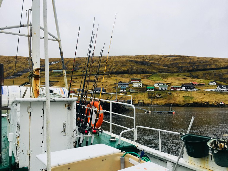 Fishing with Blástein in the Faroe Islands
