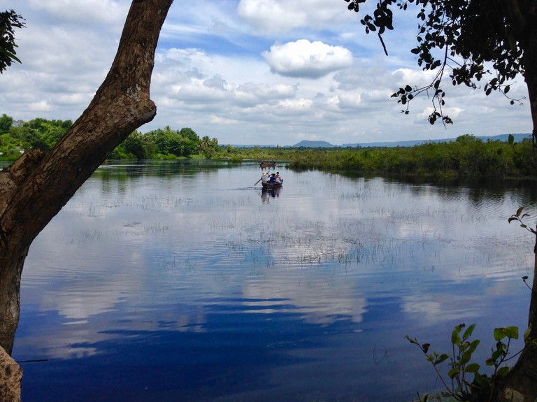 Take a boat trip on many of the lakes and waterways that dot Siem Reap.
