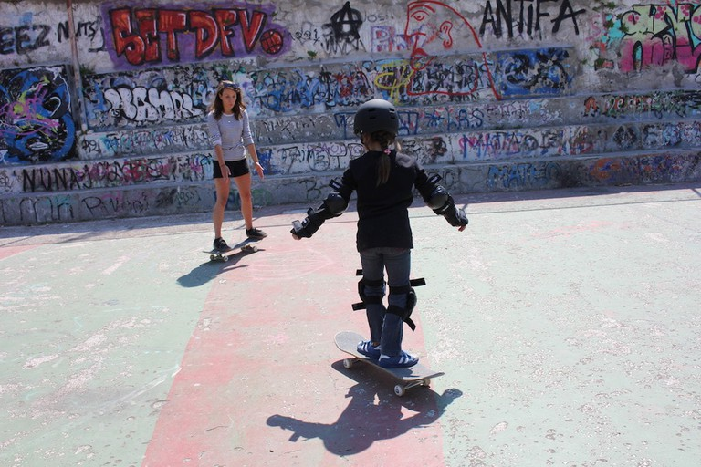 Free Movement Skateboarding in Athens