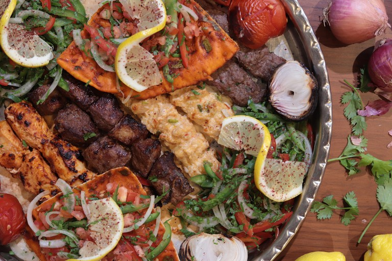 Damasca One mixed grill