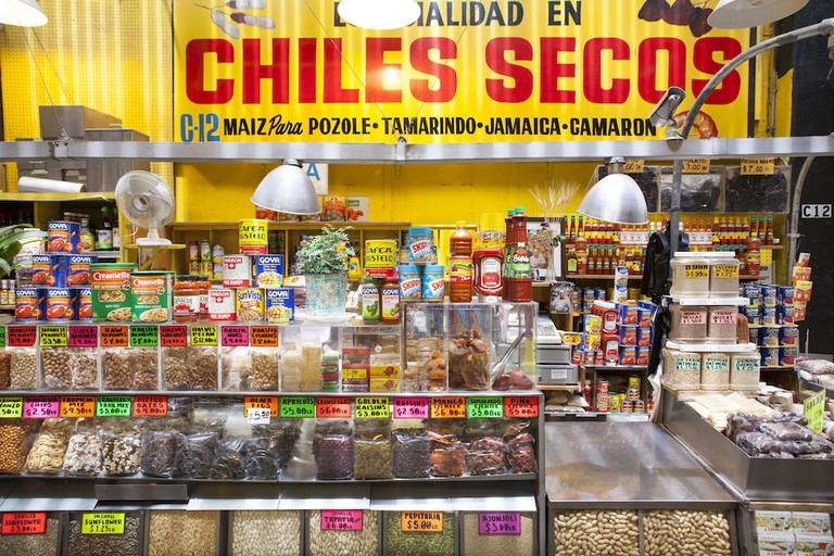 Chiles Secos is a Latin grocery