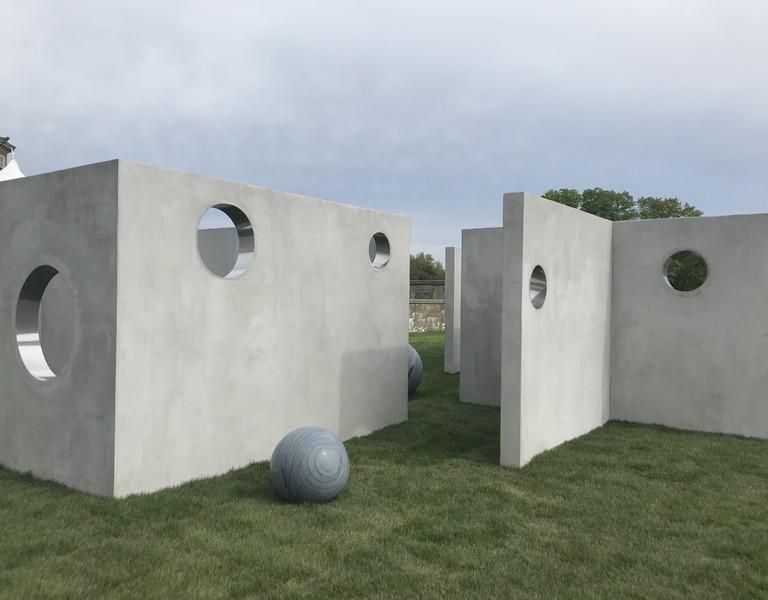 Alicja Kwade, 'TunnelTeller,' 2018
