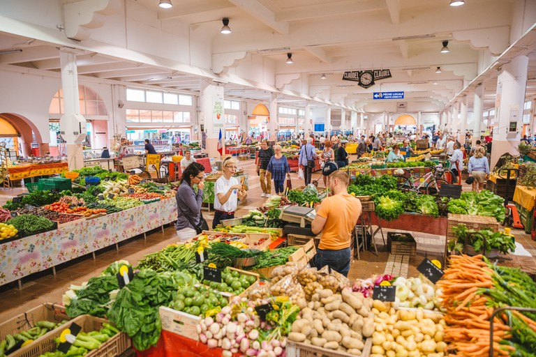 Marché Forville, Cannes, France