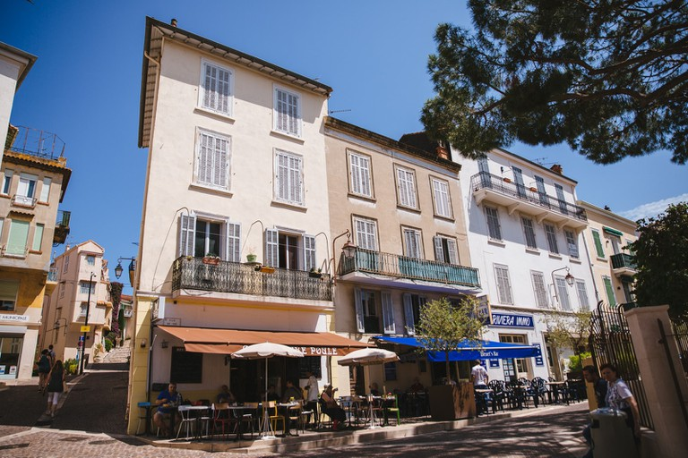 Old Town Le Suquet, Cannes, France
