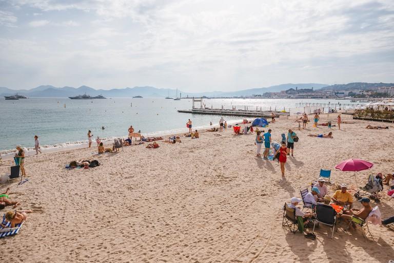 Long Beach, Cannes, France