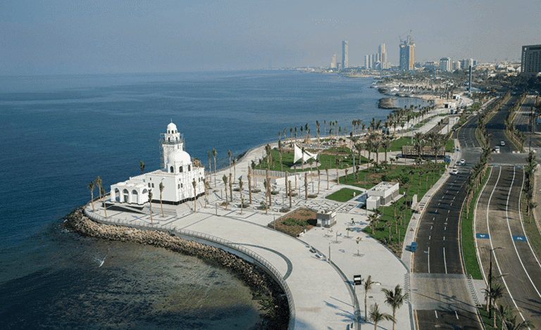 Jeddah's waterfront is one of its main attractions