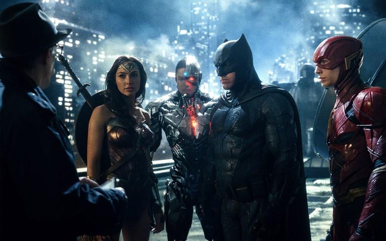 Cast of 'Justice League'