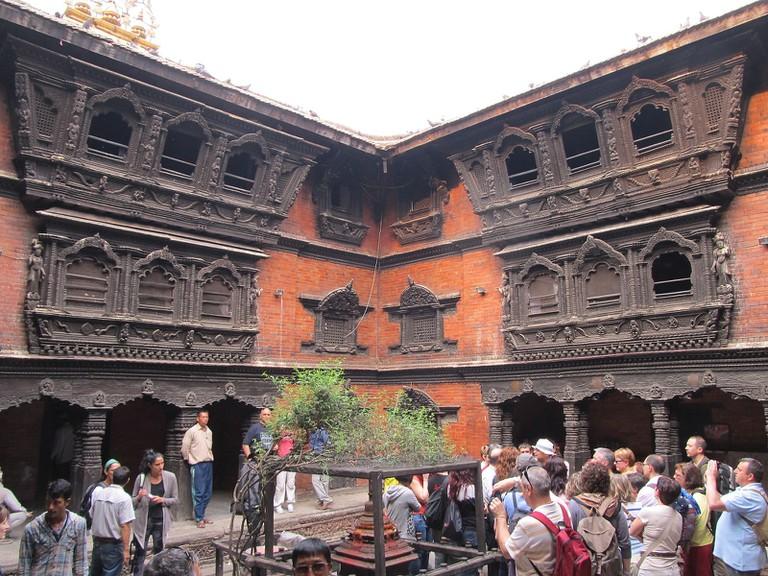 Kumari Ghar in Khatmandu, Nepal