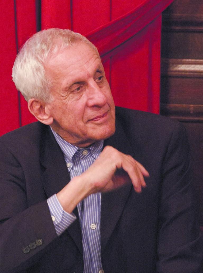 Architect, Historian and Critic Kenneth Frampton, winner of the 2018 Golden Lion Lifetime Achievement award
