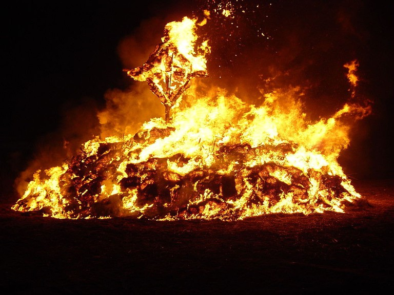 Bonfire traditions in Luxembourg