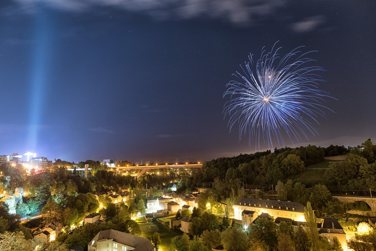 National Day celebrations in Luxembourg