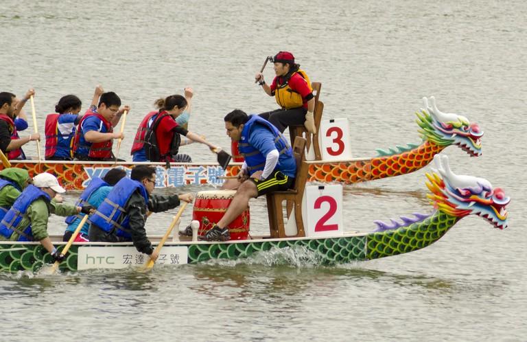 Macau Dragon Boat Races 1