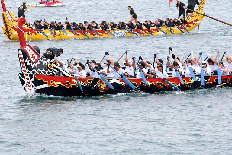 Macau Dragon Boat Races 2