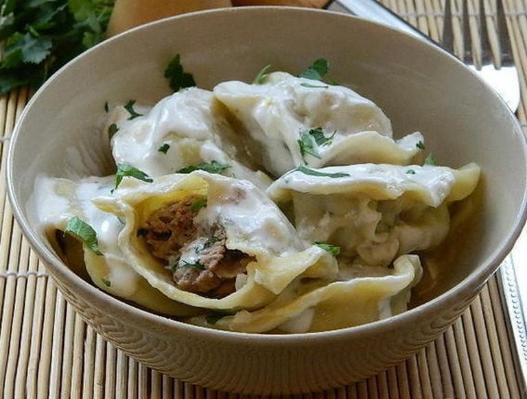 Armenian dumplings