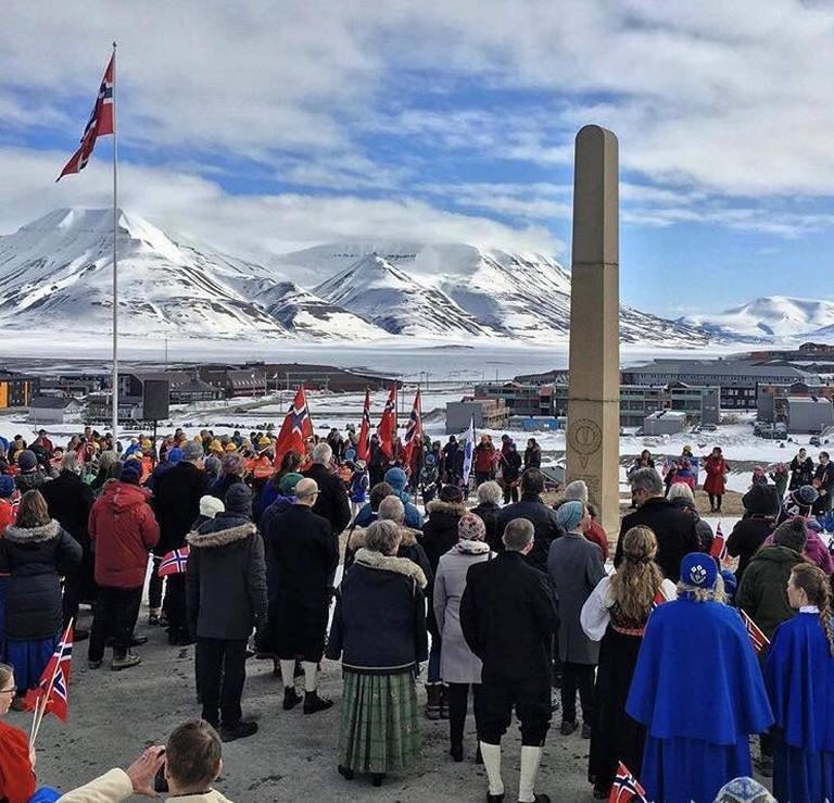 May 17 celebrations in Svalbard, © Jarle Røssland, Courtesy of Visit Svalbard