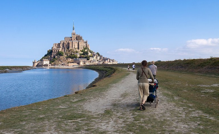 mont saint michel free in normandy