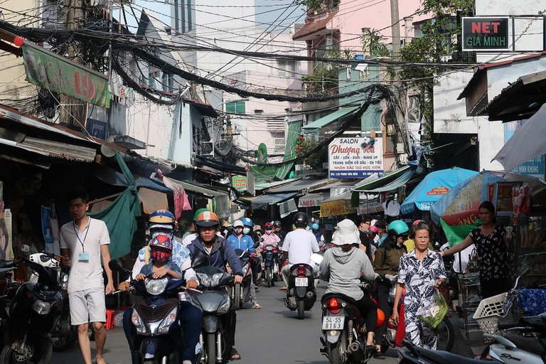 Traffic in Vietnam can be horrendous | Sam Roth
